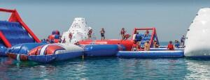 Aqua Arena - A new floating water park in Marbella