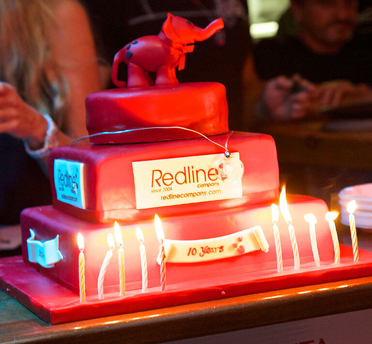 Redline throws party to say thank you for 10 years of support