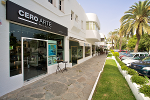 Cero Arte donates Fletcher Sibthorpe limited edition to Cudeca charity auctio