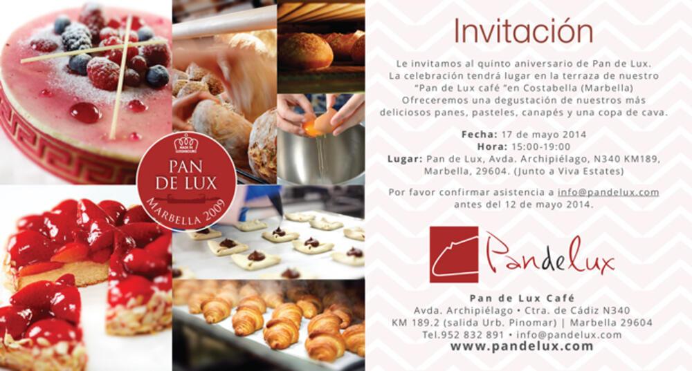Pandelux Invitation Redline Company