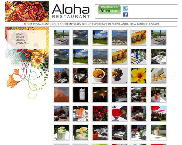 Aloha Restaurant |  Restaurant | Web Design and Programming Portfolio by Redline Company