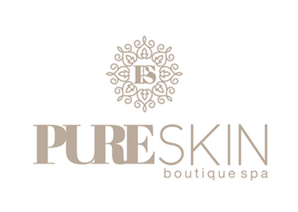 Pure Skin | Boutique Spa | Final logo for Redline portfolioPure Skin | Boutique Spa | Logo final para portfolio de Redline
