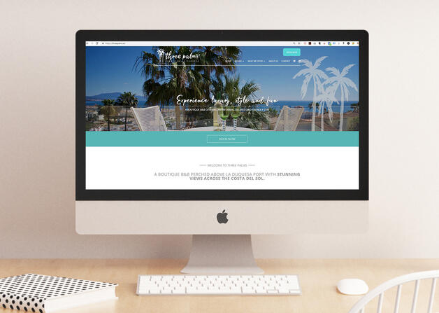 Client case study: Three Palms Boutique B&B