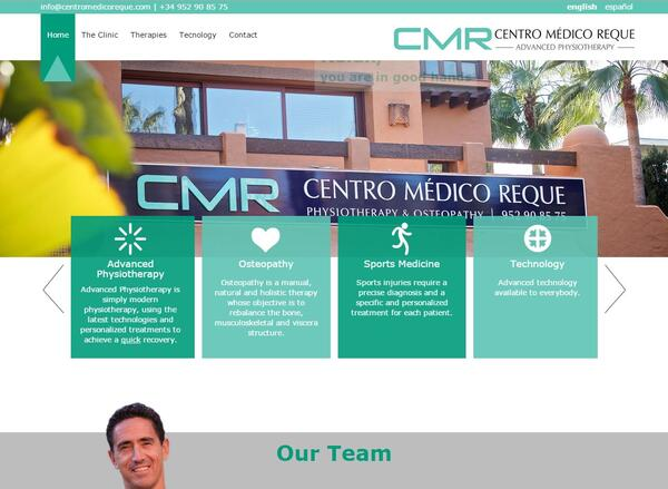 CMR - Centro Medico Reque | Medical center | Web Design and Programming Portfolio by Redline Company