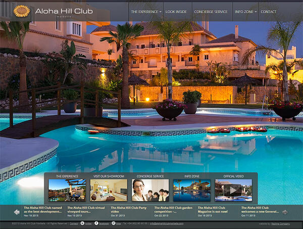 The Aloha Hill Club v3 | Property development | Web Design and Programming Portfolio by Redline Company